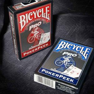 Bicycle poker peek pro