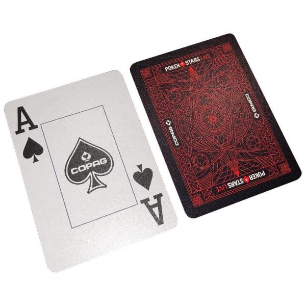 Copag Poker Stars Live playing cards