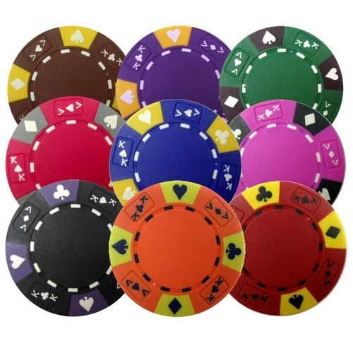 14g weighted poker chips