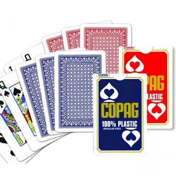 Copag bridge plastic cards