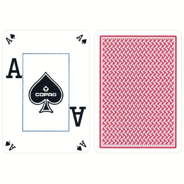 copag texas holdem plastic poker cards