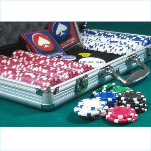 Dice Poker Chip Set