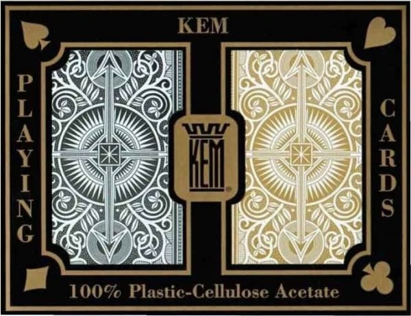 Kem Arrow Plastic Bridge Playing Cards