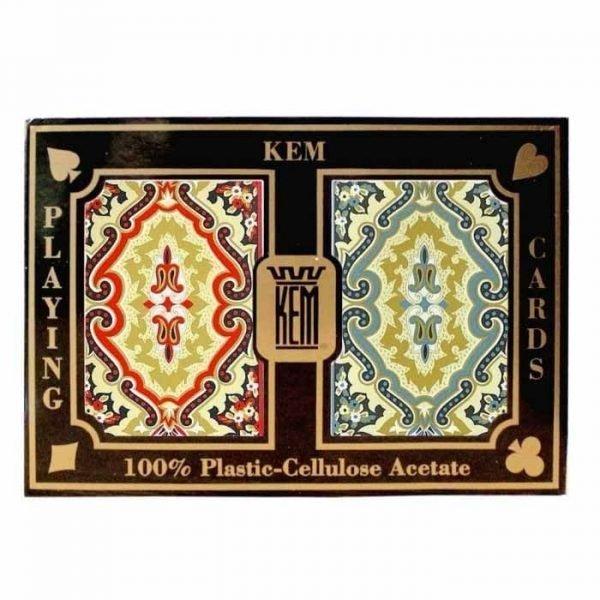 Kem Paisley Plastic Bridge Playing Cards