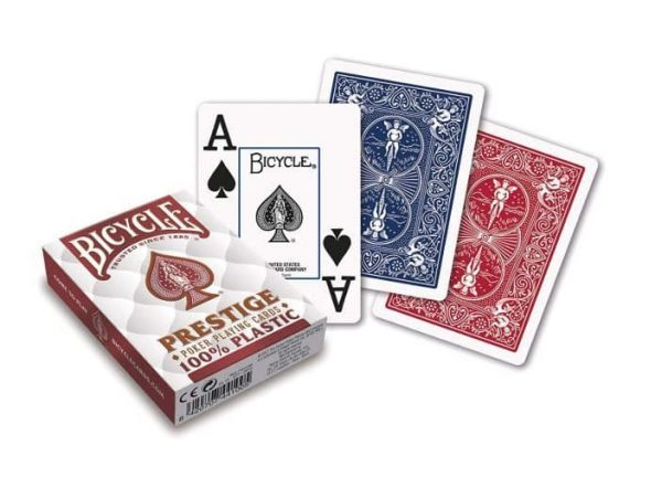 Prestige Dura-Flex Plastic Playing Cards by Bicycle