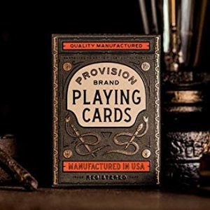 provision-brand playing cards
