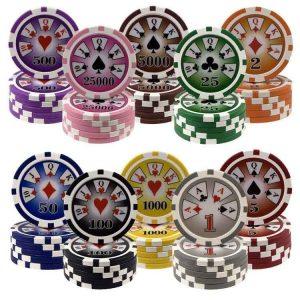 royal flush poker chhips