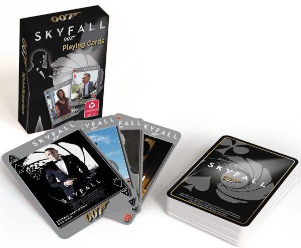 James Bond 007 Skyfall Playing Cards by Cartamundi