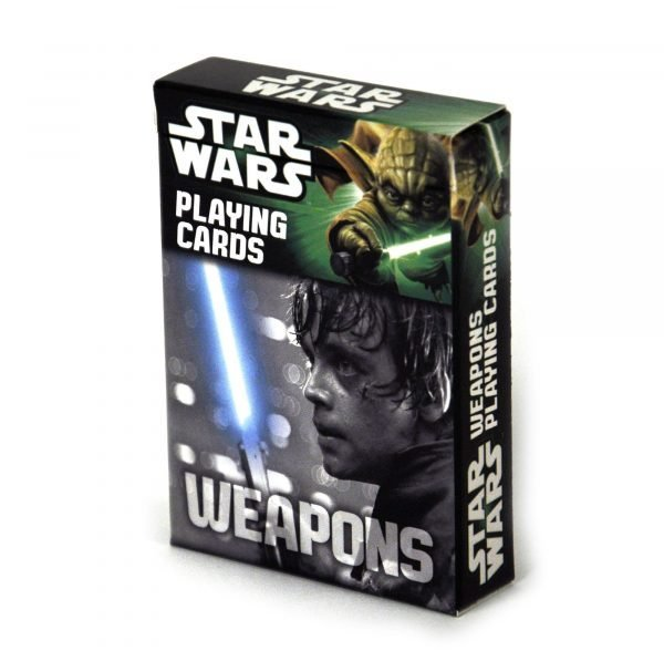 Star Wars Weapons Playing Cards