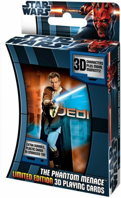 Star Wars The Phantom Menace 3D Playing Cards